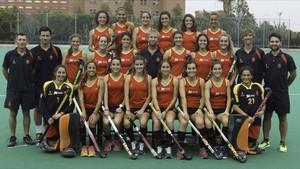 Selección española femenina de hockey sub-21