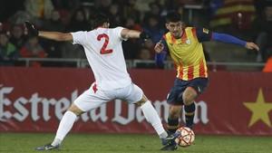 Gerard Moreno estrenó el marcador de Catalunya