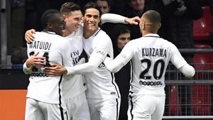 Draxler marcó hace una semana en la Copa... y este sábado dio el triunfo al PSG en la Liga