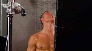 Cristiano Ronaldo, en la ducha