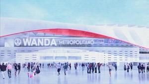 Peligra el traslado del Atlético de Madrid al Wanda Metropolitano