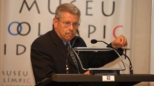 Rubén Peris, durante una jornada en el Museu Olímpic de lEsport