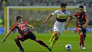 Patronato y Boca Juniors empataron en Argentina