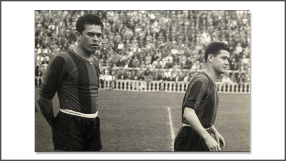 Olmedo, la curiosa historia de un paraguayo en el Barça (ES)