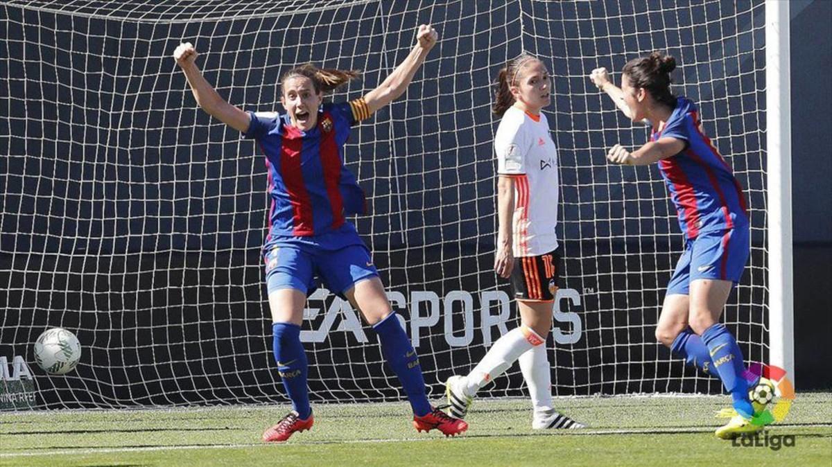El Barça se jugará el título en casa ante al Atlético tras ganar en Valencia