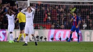 Verratti, en un duelo ante el Barça
