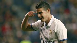 El Real Madrid espera lograr un buen traspaso por James Rodríguez