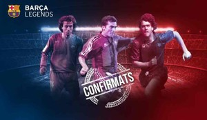 El Barça Legends ya está al completo