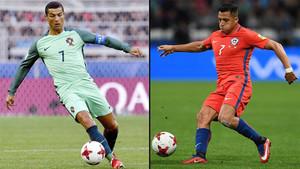 Cristiano y Alexis acaparan la atención de la semifinal