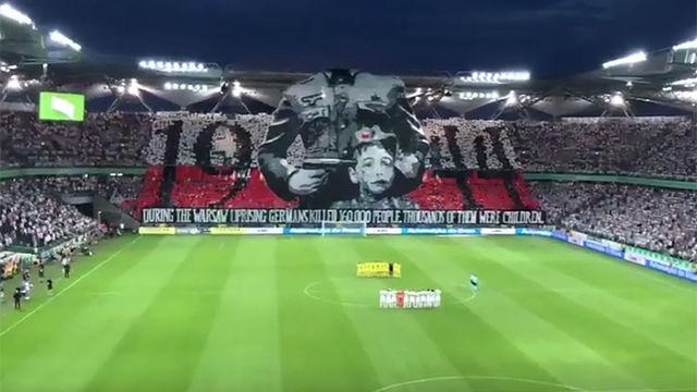 El homenaje polaco al levantamiento de Varsovia