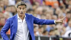 Michel puede estar viviendo sus últimas horas como entrenador del Málaga