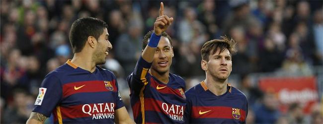 El Bar�a golea a la Real y completa su semana fant�stica