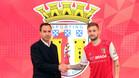 Cartabia, en su presentación con el Sporting de Braga portugués