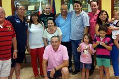 Los padres de Jordi Alba vivieron una jornada muy especial