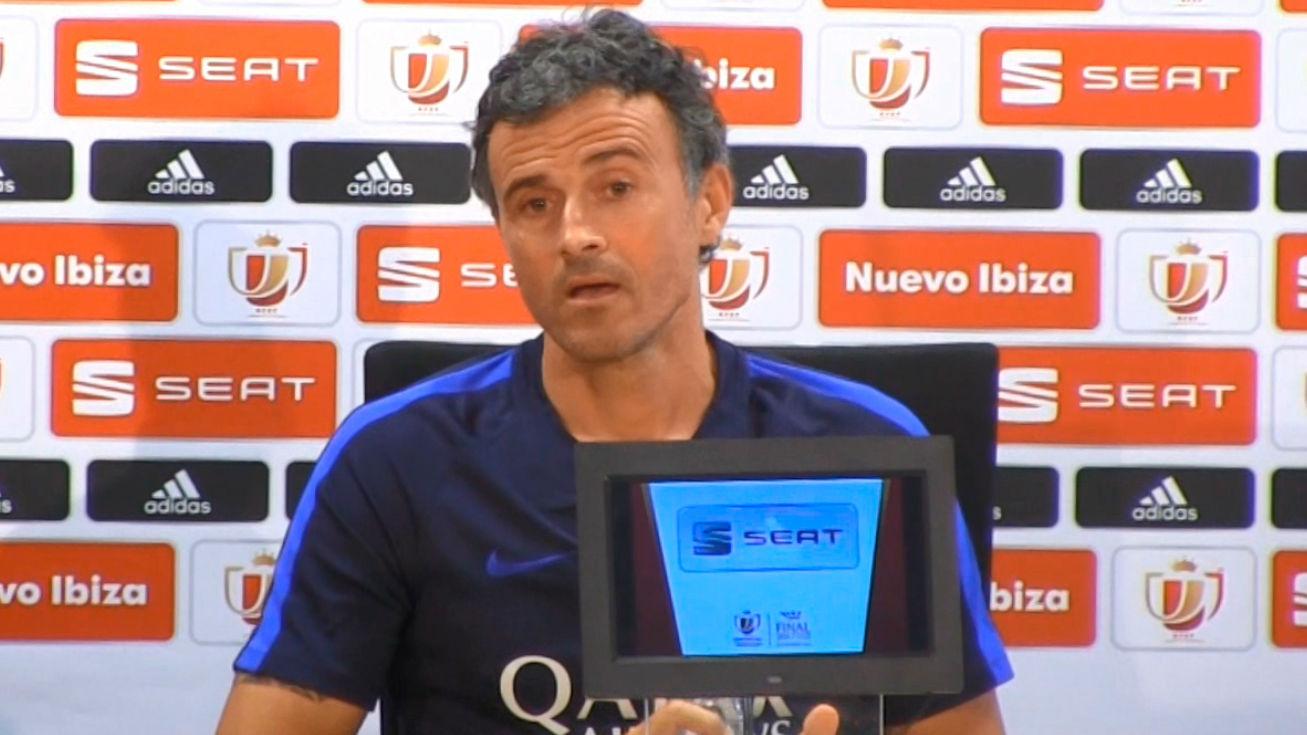 Luis Enrique no descarta volver a entrenar al Barça