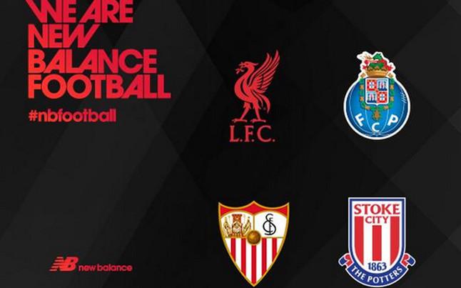New Balance lanza sus primeros diseños europeos con el Stoke City (foto)