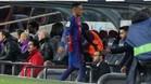Neymar, camino del banquillo del Camp Nou