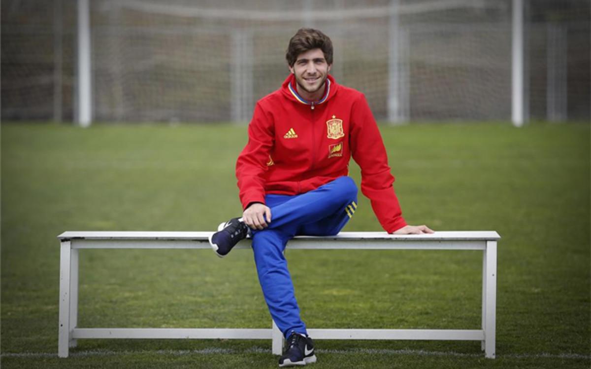 "Sergi Roberto: ""Fui tozudo porque quer�a triunfar en el club de mi vida"""