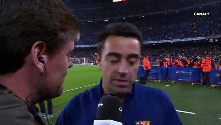 Xavi elogi� a Messi