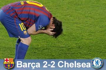 El fútbol castiga al Barça