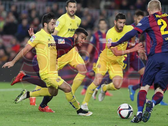 صور : مباراة برشلونة - فياريال 3-1 ( 11-02-2015 ) 1423690283443