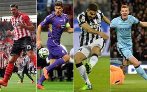 Pellè, Gómez, Llorente y Dzeko, opciones para el ataque blaugrana