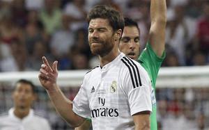 Xavi Alonso, en una foto de archivo de su etapa como jugador del Real Madrid