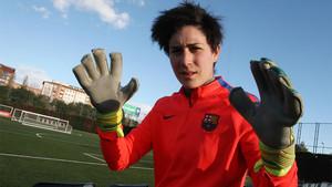Ràfols volverá a la titularidad tras la lesión de Sandra Paños