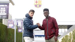 Ben Lederman (izquierda) y Patrice Soussia vuelven al Barça