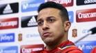 Thiago Alcántara se siente cómodo en la selección española