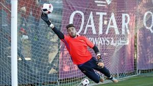 Jose Suárez, lesionado