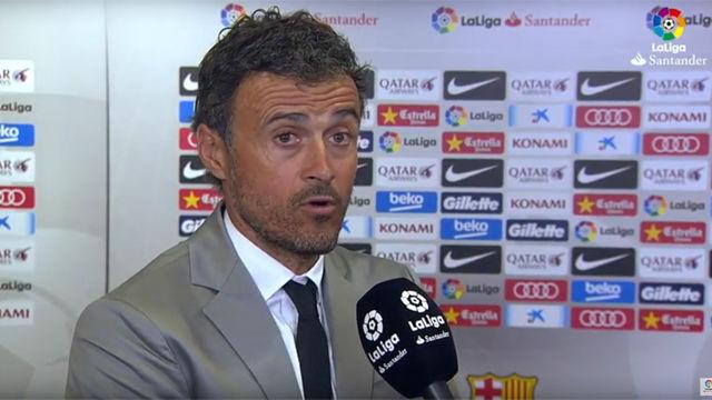 Luis Enrique valoró las causas por las que el Barça no ha sido campeón