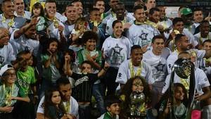 Atlético Nacional celebra el triunfo