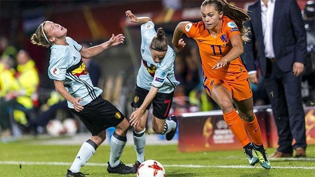 El regate de Lieke Martens comparado con el de Johan Cruyff