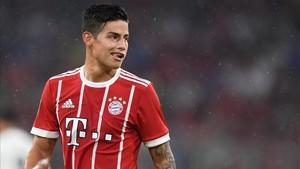 James será uno de los jugadores mejor pagados en el Bayern