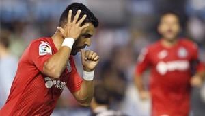 Ángel empató para el Getafe a cinco minutos del final