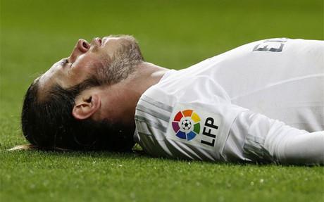 Bale ha sufrido 11 lesiones desde que est� en el Madrid