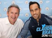 Bravo ya es nuevo jugador del Manchester City
