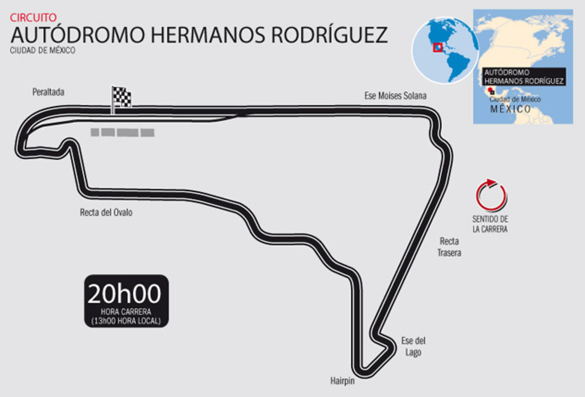 Horario mundial mexico related keywords suggestions for Puerta 5 autodromo hermanos rodriguez