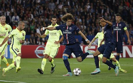 David Luiz marc� de este modo el gol del PSG