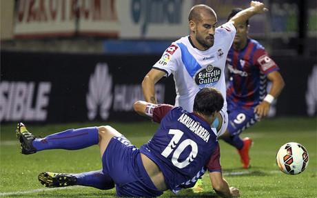 El Deportivo gan� al Eibar