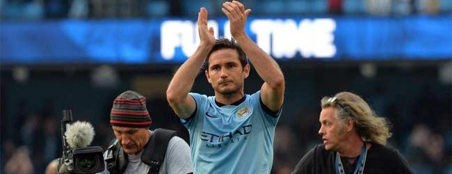 Lampard amargó al Chelsea y rescató un empate para el City