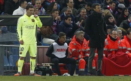 Messi y Luis Enrique lideran al Bar�a