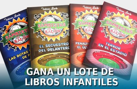 SPORT sorte� este lote de libros infantiles
