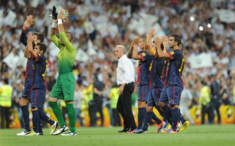 El Barça acabó con la cabeza alta tras un mal arranque