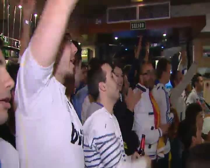 Tristeza entre los aficionados del Real Madrid