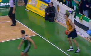 Pau Gasol, durante su primer partido en Cáceres