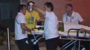 Neymar se lesionó en el Mundial 2014