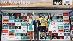 Carlos Barbero toma el mando de la Volta al Alentejo