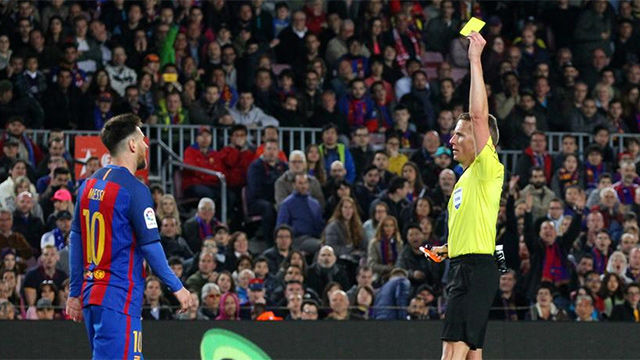 Video resumen: Messi vio la amarilla y no jugará la próxima jornada por sanción